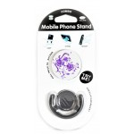POP MOBILE STAND & HOLDER ΜΕ ΒΑΣΗ ΑΥΤΟΚΙΝΗΤΟΥ PURPLE FLOWERS OEM - (ACC-190)