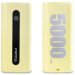 POWER BANK REMAX 5000MAH YELLOW PRODA E5 PPL-15