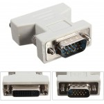 POWERTECH ADAPTER VGA 15PIN MALE ΣΕ DVI-I 24+5 F, ΣΥΜΒΑΤΟ ΚΑΙ ΜΕ 24+1