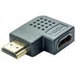 PT ADAPTER HDMI 1.4V(F)/(M) , ΓΩΝΙΑΚΟΣ 90°, RIGHT