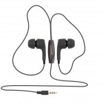 SBOX EARPHONES WITH MICROPHONE BLACK - (EP-791B)