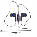SBOX EARPHONES WITH MICROPHONE BLUE - (EP-791BL)