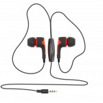SBOX EARPHONES WITH MICROPHONE RED - (EP-791R)