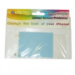 SCREEN PROTECTOR IPHONE 4G/4S 3.5 BACK VOLTE-TEL GLITTER
