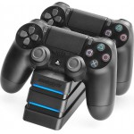 SNAKEBYTE PS4 DUAL CHARGING STATION BLACK - (SB911712)