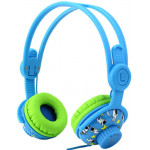 SONIC GEAR CHILD-SAFE HEADPHONES BLUE - (KINDER2BG)