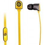 SONIC GEAR IN-EAR HEADPHONES WITH MIC NEOPLUG NOZZ B.YELLOW - (8886411937317)