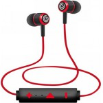 SONIC GEAR SWEAT RESISTANCE BLUETOOTH SPORT EARPHONES BLUESPORTS 6 PRO RED - (BS6R)