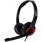 SONIC GEARS STEREO HEADSET XENON 2 F.RED