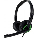 SONIC GEARS STEREO HEADSET XENON 2 LIGHT GREEN