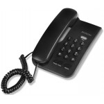 SONORA CORDED PHONE BLACK - (CP-001)