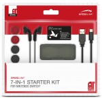 SPEEDLINK 7-IN-1 STARTER KIT FOR NINTENDO SWITCH BLACK - (SL-330600-BK)