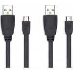 SPEEDLINK STREAM PLAY CHARGE USB CABLE SET FOR PS4 BLACK - (SL-450104-BK)