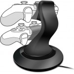 SPEEDLINK TWINDOCK CHARGING SYSTEM FOR PS4 BLACK - (SL-4511-BK)