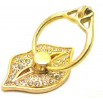 STAND & HOLDER RING GOLDEN LIPS STRASS OEM