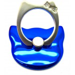 STAND & HOLDER RING KITTY METALLIC BLUE OEM