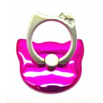 STAND & HOLDER RING KITTY METALLIC PINK OEM