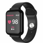 SW AB57 SMART WATCH FITNESS black - (SWAB57B)