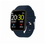 SW AID116 PRO SMART WATCH FITNESS black blue - (SWAID116PBB)