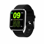 SW AID116 PRO SMART WATCH FITNESS silver black - (SWAID116PSB)