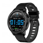 SW AL8 SMART WATCH FITNESS black - (SWAL8)