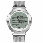 SW AM6 SMART WATCH FITNESS silver - (SWAM6S)