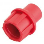 TELECOM CUT AND PUSH PLASTIC COAXIAL CONNECTOR, PATENTED, RED 5 ΤΕΜ.