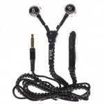 TELLUR IN-EAR HANDFREE ZIP LINE FANTASY BLACK - (8355871620812)