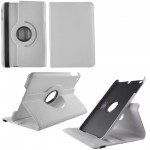 ΘΗΚΗ IPAD MINI 4 7.9 LEATHER BOOK ROTATING STAND WHITE