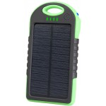 TRACER SOLAR MOBILE BATTERY 5000 MAH GREEN - (5907512855454)