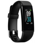 ACME Fitness Activity Tracker ACT307 Με Heart Rate Μαυρο