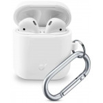 Cellular Line 355783 BOUNCE CASE AIRPODS 1 and 2 WHITE - (BOUNCEAIRPODSW)