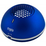 CRYPTO BLUETOOTH SPEAKER MAGNET POWER 10 METALLIC BLUE - (W004853)