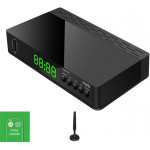 CRYPTO DVB-T2 RECEIVER ReDi 271 FHD HEVC with SMART TV Remote Control & Digital Antenna - (W016029)