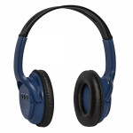 DEFENDER WIRELESS STEREO BLUETOOTH HEADPHONES FREEMOTION B520 black blue - (63522)