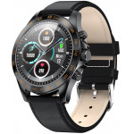 HIFUTURE smartwatch HiGEAR 1.3 IP68 heart rate monitor μαύρο - (HIGEARL-BK)