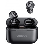 Lenovo Tws Wireless Bluetooth Earbuds HT18 Μαύρο - (PTM7C02358)