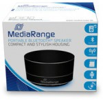 MEDIARANGE PORTABLE BLUETOOTH SPEAKER BLACK - (MR733)