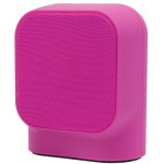 MUVIT BLUETOOTH PORTABLE SPEAKER SD1 FABRIC pink - (MUSSP0029)