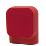 MUVIT BLUETOOTH PORTABLE SPEAKER SD1 FABRIC red - (MUSSP0027)