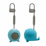 MUVIT LIFE ANIBALL PORTABLE SPEAKER WALRUS 3W blue - (MLSSP0015)