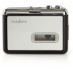 NEDIS PORTABLE USB CASSETTE TO MP3 CONVERTER - (ACGRU100GY)
