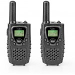 NEDIS WALKIE-TALKIE RANGE 8KM 8 CHANNELS VOX 2 PIECES BLACK - (WLTK0800BK)