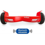 NILOX BLUETOOTH DOCK 2 HOVERBOARD RED WHITE - (30NXBK65BWN07)