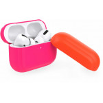 Puro Silicon Case ICON FLUO For AirPods Pro With Additional Cap Φούξια - (APPROCASE1FLUOFCS)