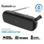 SONIC GEAR BLUETOOTH 5.0 SUPER BASS FM RADIO BLACK GREY - (P8000BG)