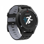 SW AF5 SMART WATCH GPS FITNESS black gray - (SWAF5BG)